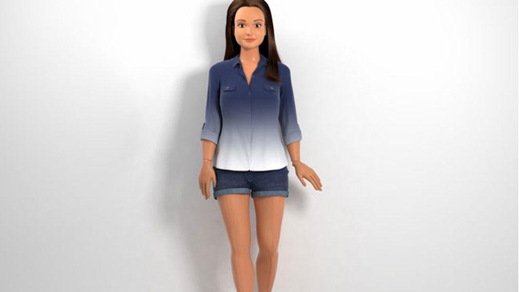 """""""Lammily"""", la primera muñeca hecha de acuerdo con las proporciones de un cuerpo humano real"""