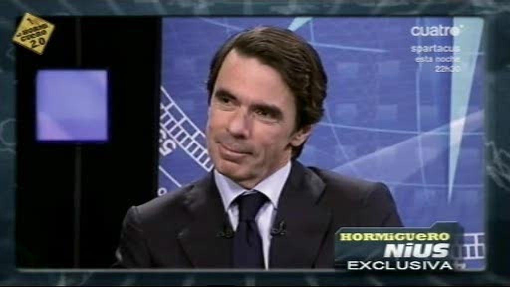 Pablo Motos entrevista a Aznar