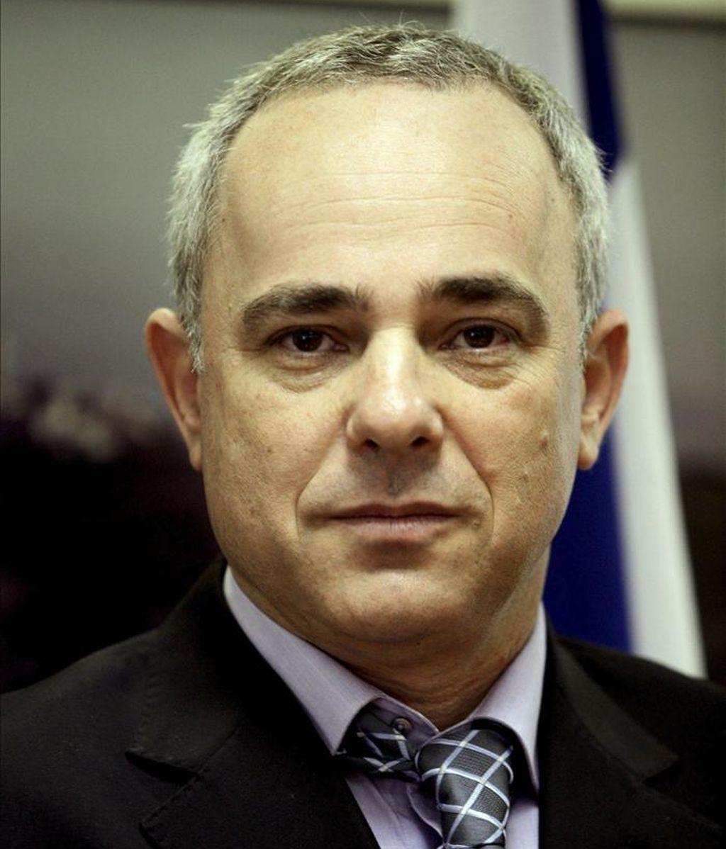 El ministro israelí de Finanzas, Yuval Steinitz. EFE/Archivo