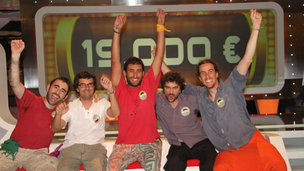 Los Trotamundos se llevaron 19.000 euros