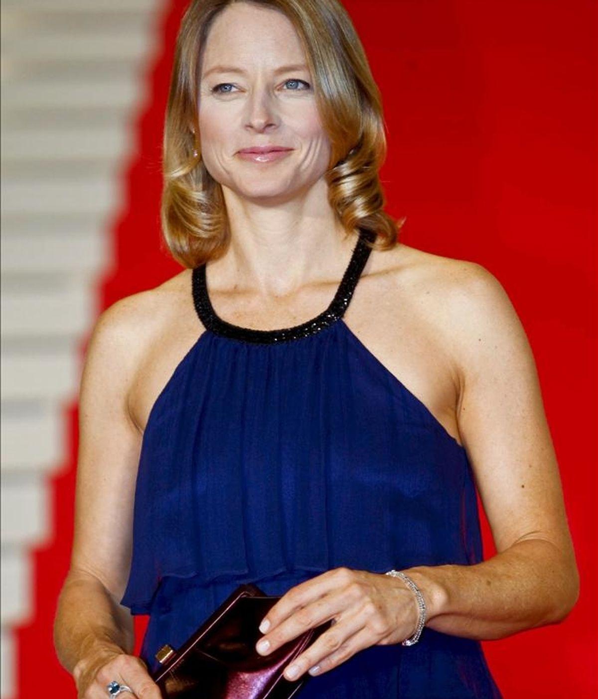 La actriz estadounidense Jodie Foster. EFE/Archivo