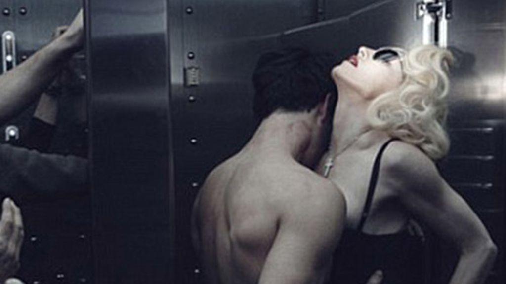 Madonna hace subir la temperatura