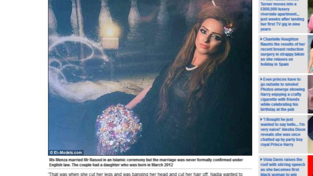 Una modelo musulmana se suicida por miedo a un matrimonio forzado