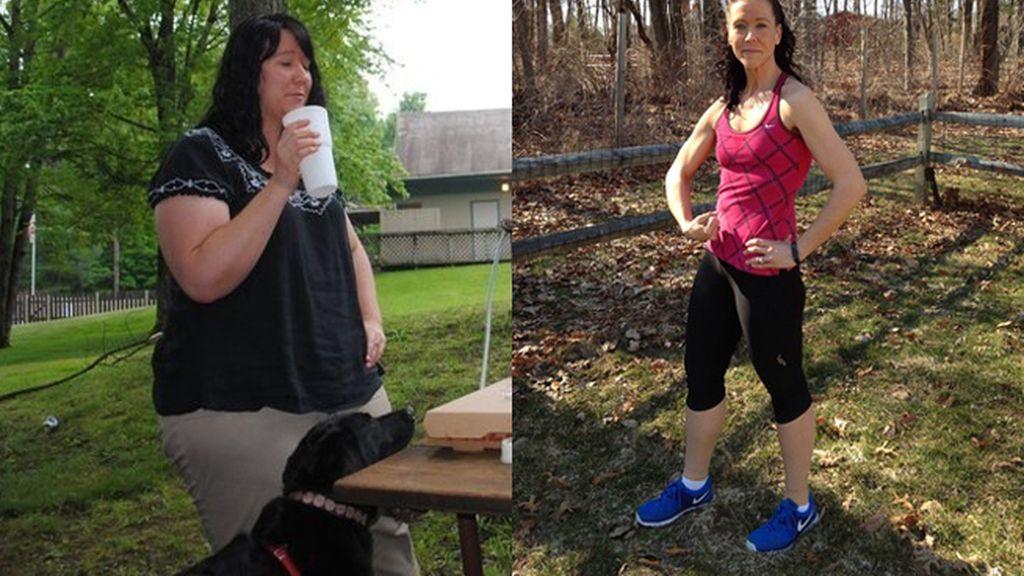 Una mujer pierde 65 kilos siguiendo 6 pasos