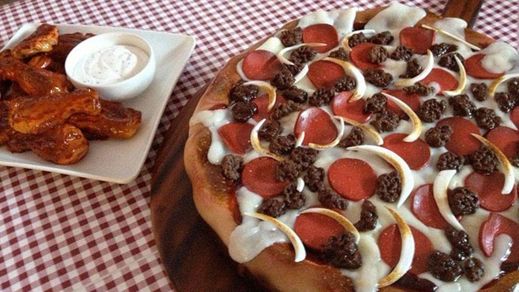 Comidas delicosas que en verdad son pasteles