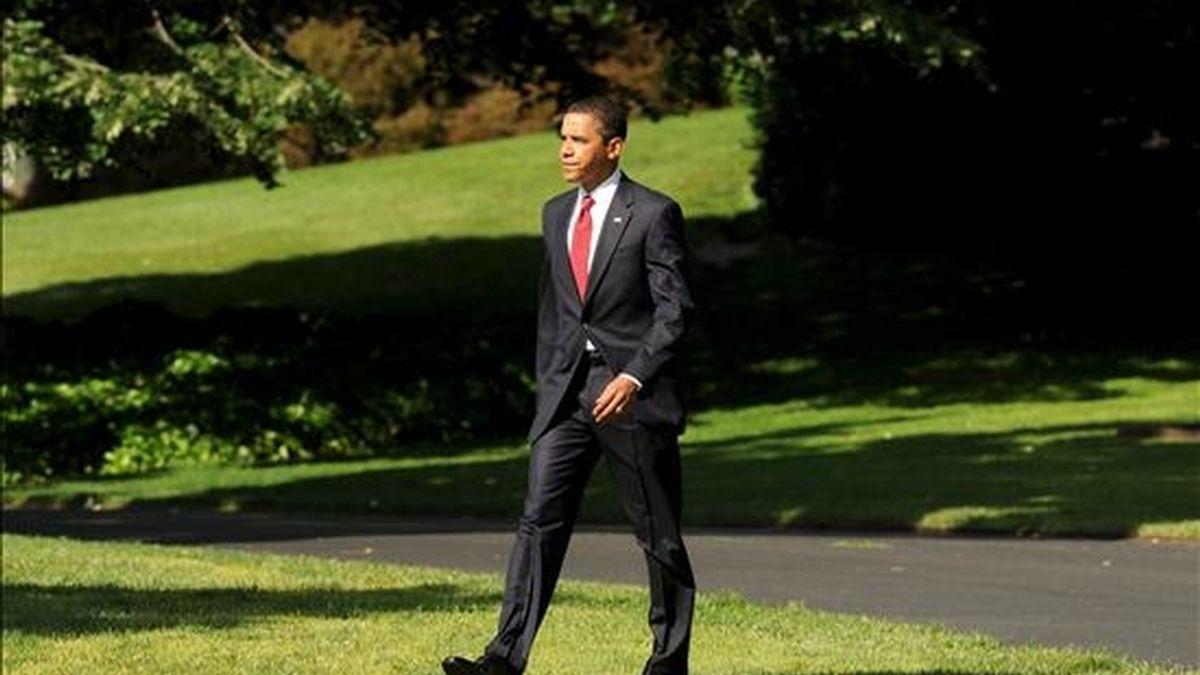 En El Cairo, el presidente Obama visitará la universidad de esa capital y pronunciará un discurso dirigido a la comunidad musulmana. EFE/Archivo