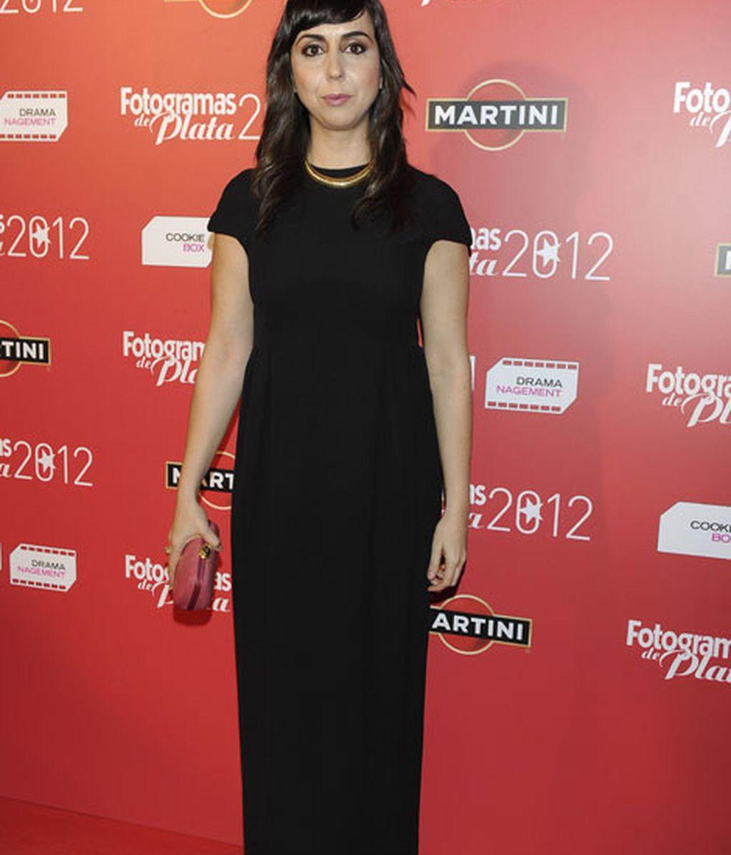 Una sencilla y elegante Carmen Ruiz no quiso perderse la gala