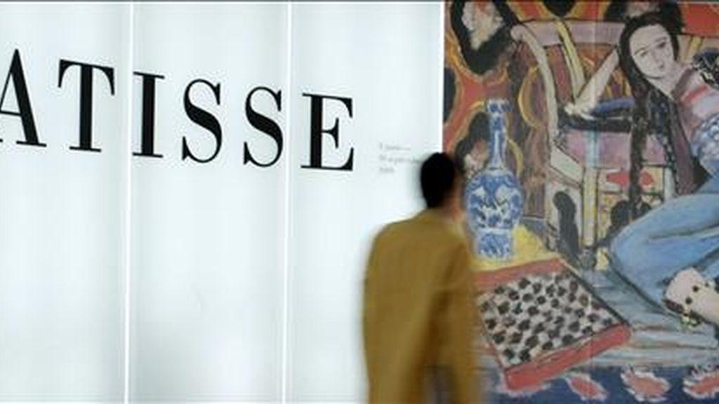 Aspecto de la exposición que el Museo Thyssen-Bornemisza de Madrid dedica a la obra que Henri Matisse realizó en el tramo central de su carrera, desde 1917 a 1941. EFE/Archivo