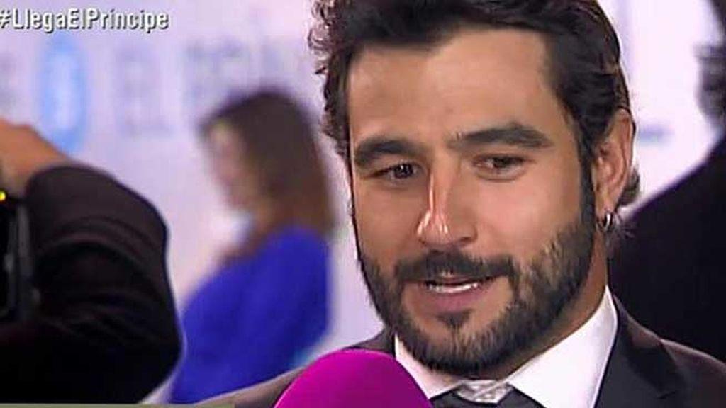 El actor Antonio Velázquez también quiso apoyar a sus compañeros