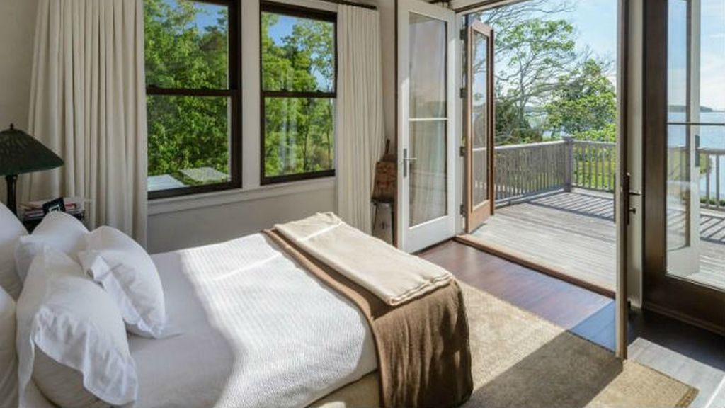 En el dormitorio de Richard Gere pero con mucha paz