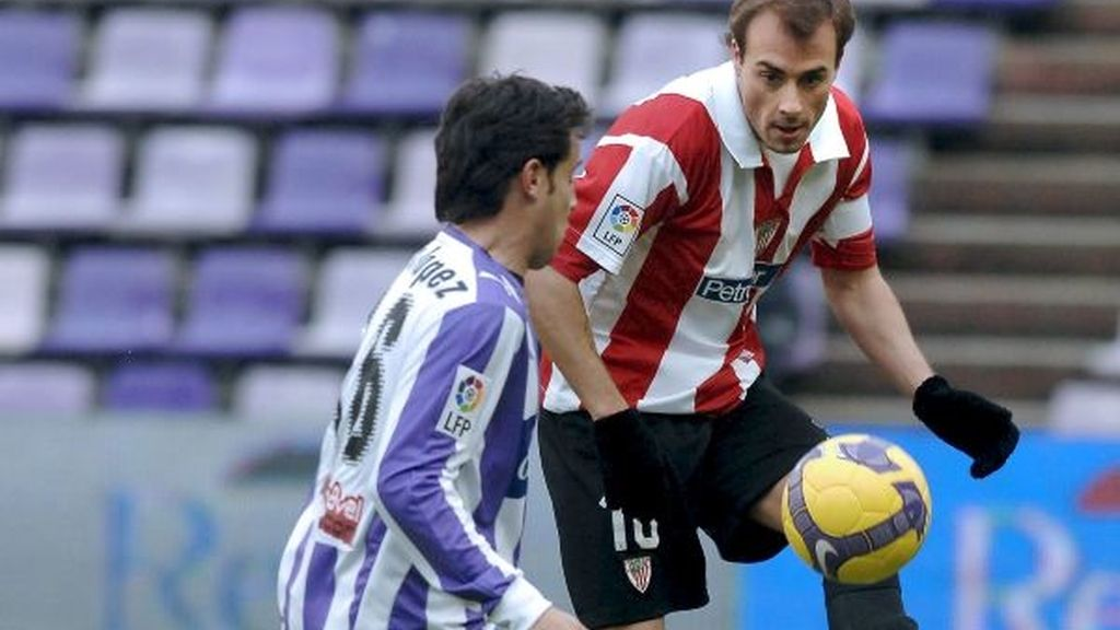 2-1. Víctor, con dos goles, aplaca la furia del Athletic