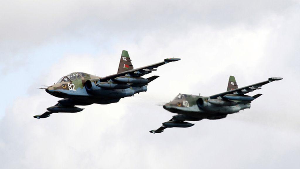 Cazabombardero SU-25