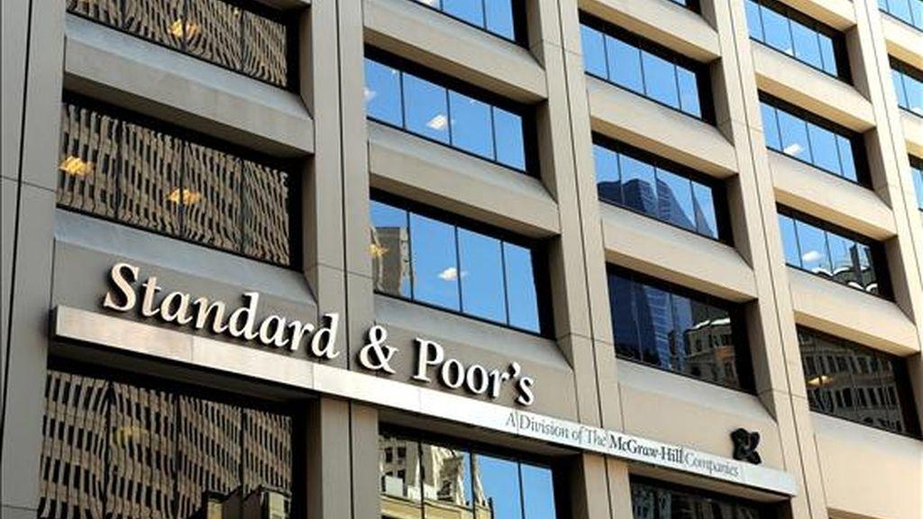 Oficinas de Standard & Poor's en Nueva York. EFE/Archivo