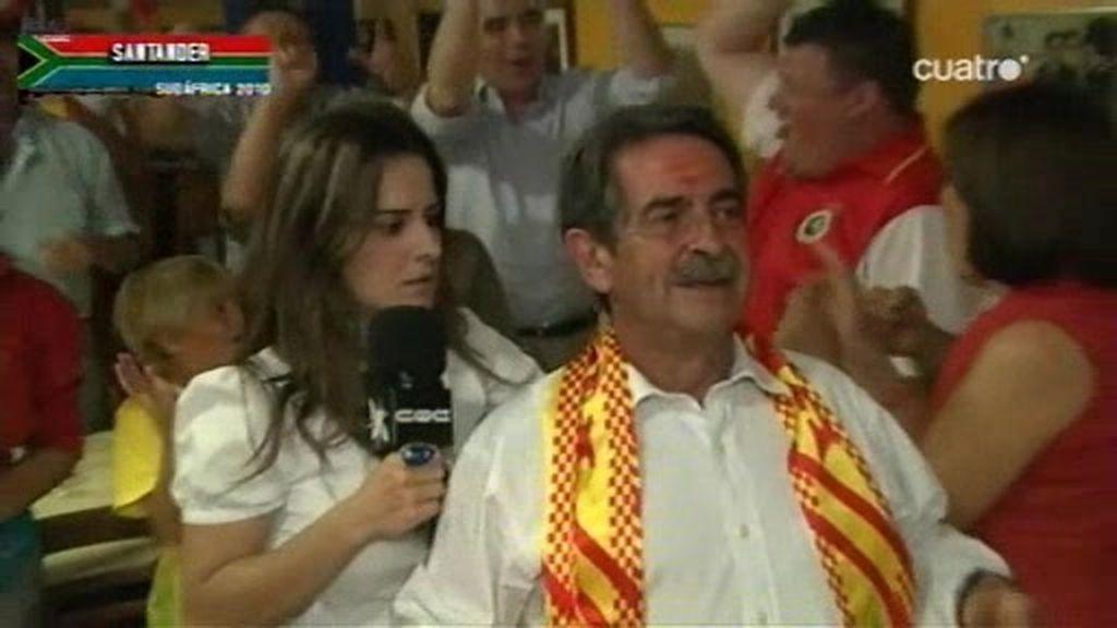 CQC vivió el pase a la Final con españoles, alemanes y Miguel Ángel Revilla
