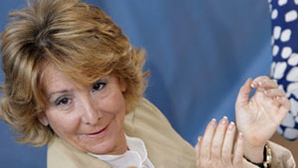 Esperanza Aguirre ha manifestado las dudas sobra la dirección de su partido tras el fracaso en la últimas elecciones. Vídeo: Atlas