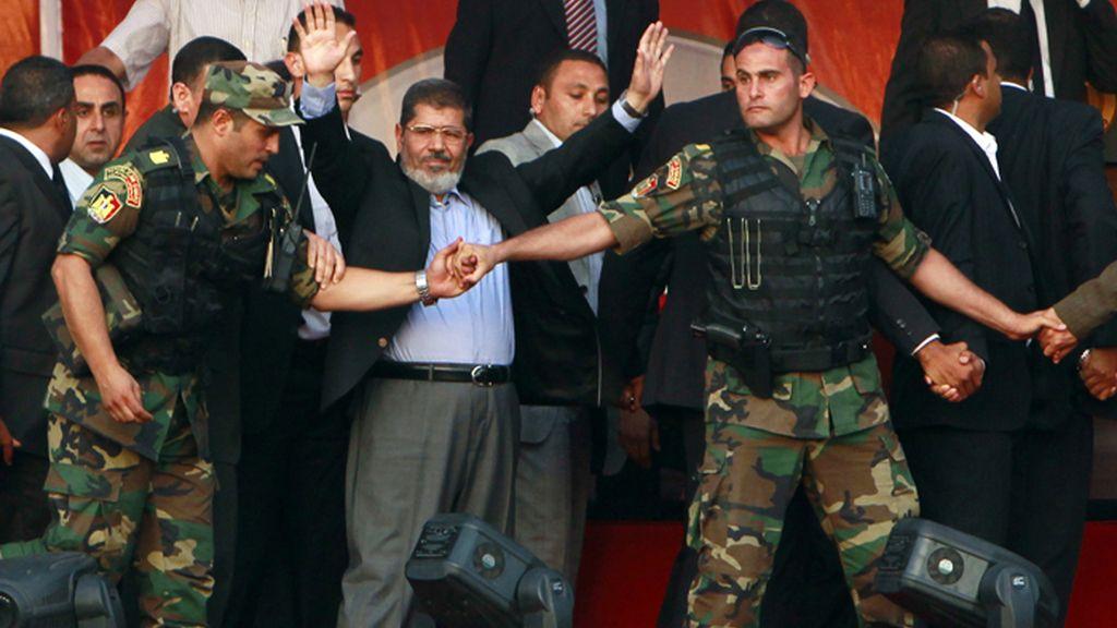 Mohamed Morsi, presidente electo de Egipto