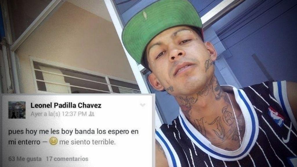 Un joven anuncia su entierro en Facebook