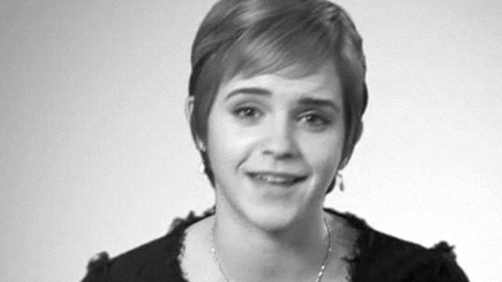 Un frame del vídeo que Emma Watson ha colgado para agradecer las felicitaciones de sus fans. Foto: emmawatson.com
