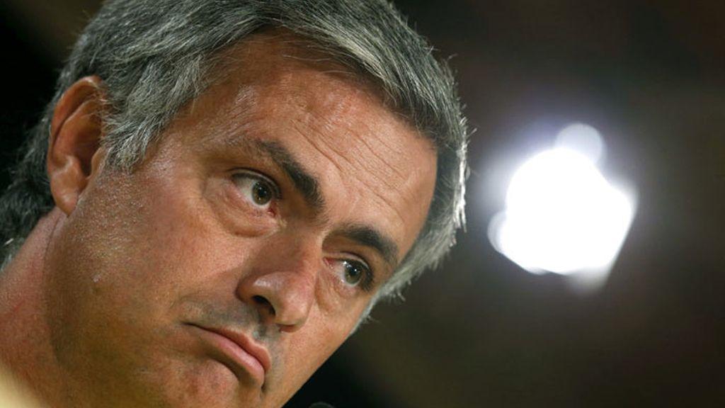 Imagen del entrenador del Real Madrid, José Mourinho