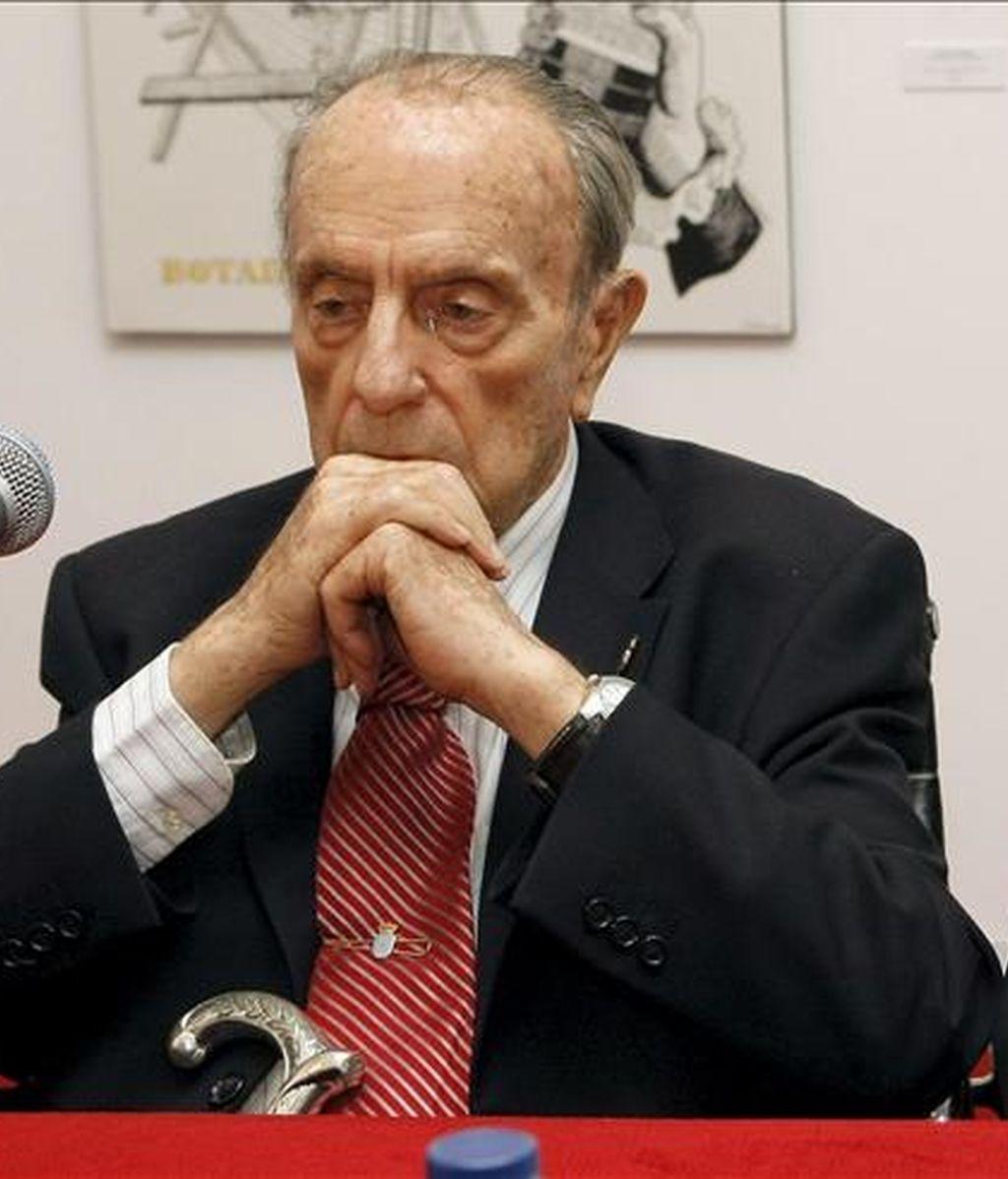 El ex presidente de la Xunta Manuel Fraga. EFE/Archivo