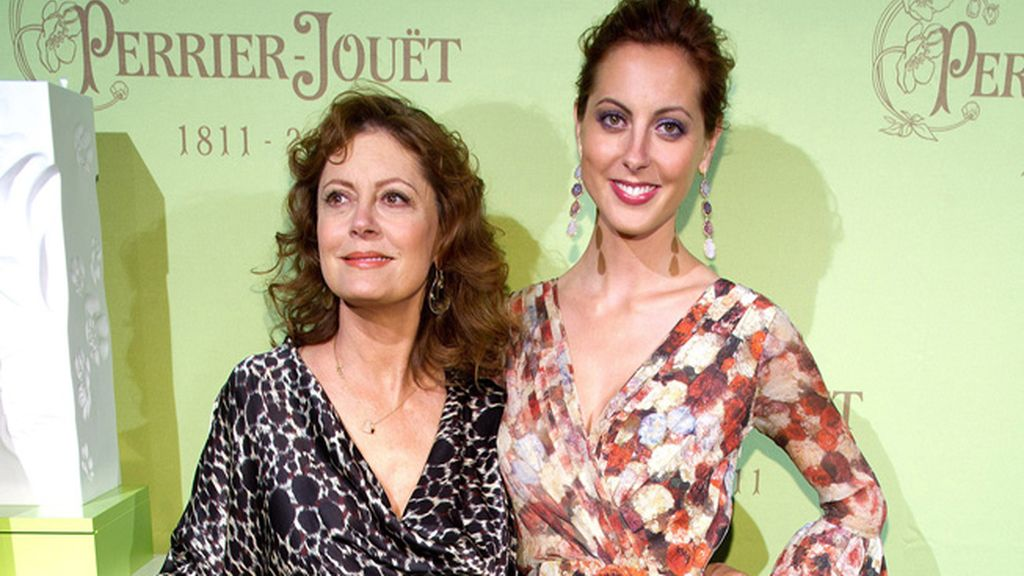 Susan Sarandon y su hija Eva
