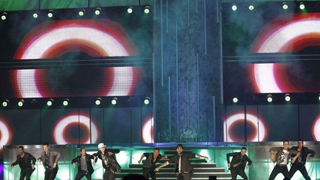 Backstreet Boys y los New Kids On The Block