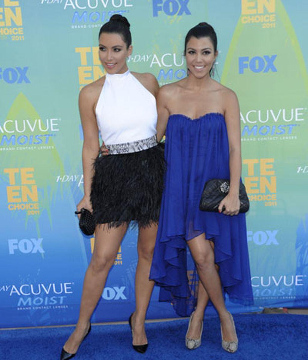 Kim Kardashian y Kourtney Kardashian