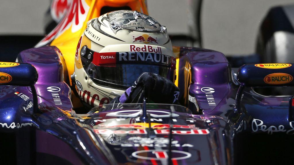 Pole para Vettel