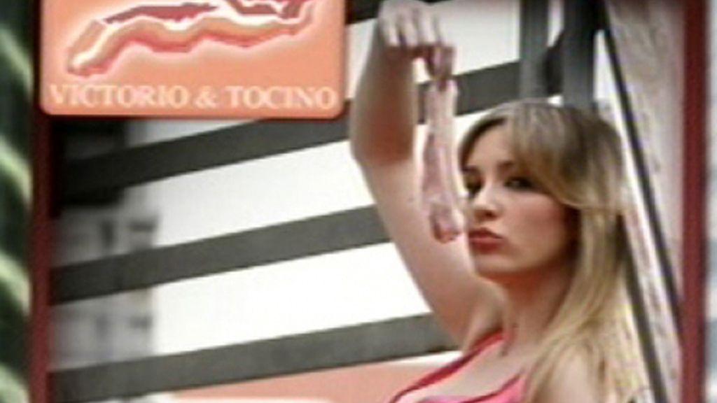 Anna posa para Victorio y Tocino