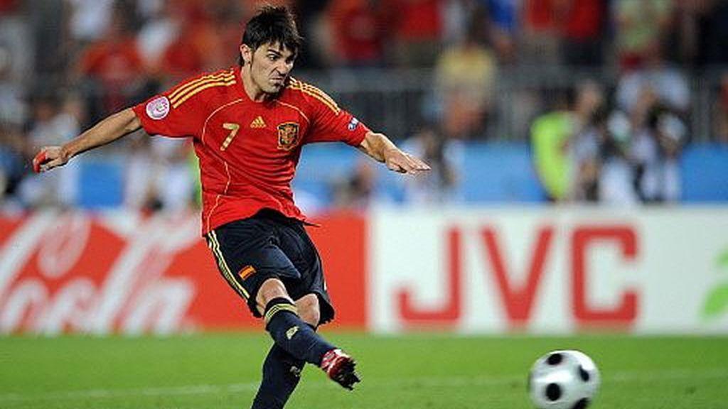 Villa no falló su penalti. FOTO: AP.