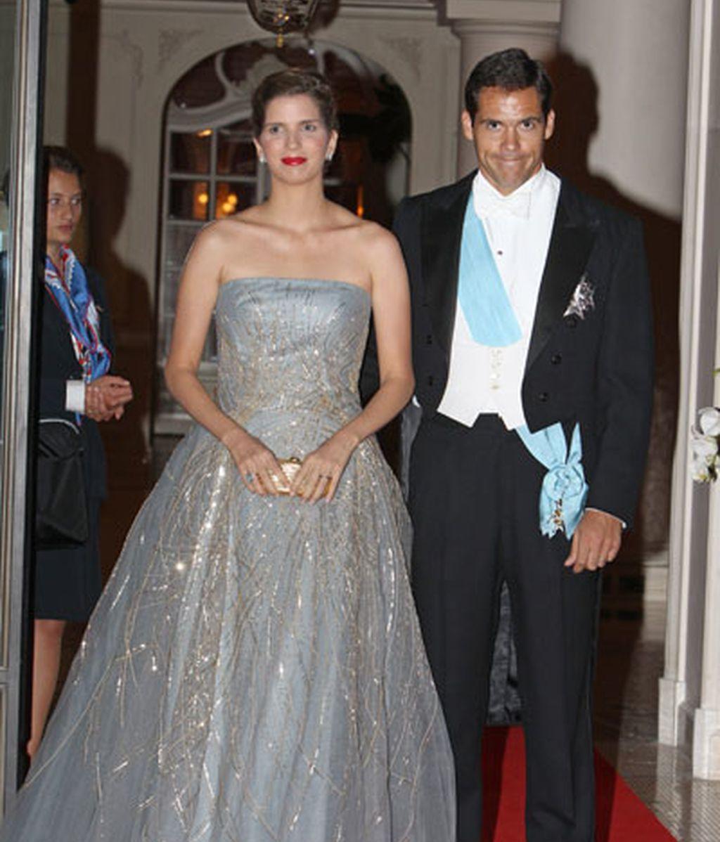Luis Alfonso de Borbón y Margarita Vargas