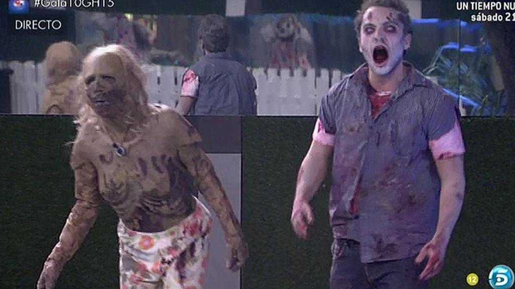 La noche del terror pilla por sorpresa a los concursantes