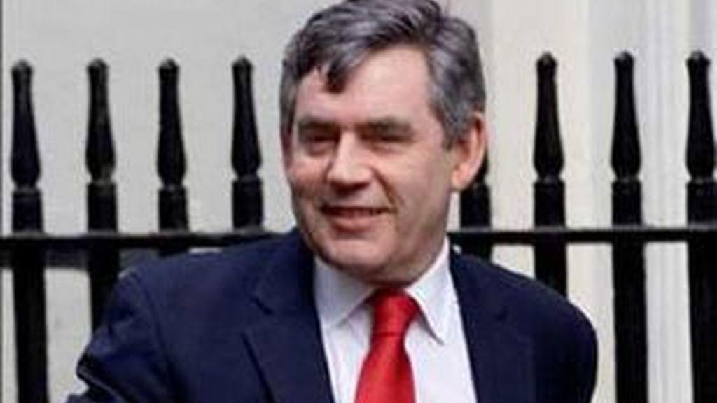 Imagen de archivo del primer ministro británico, Gordon Brown.