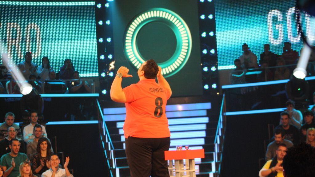 Las imágenes de Sergio en 'Uno para ganar'