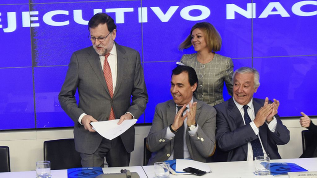 Rajoy preside la reunión del Comité Ejecutivo Nacional