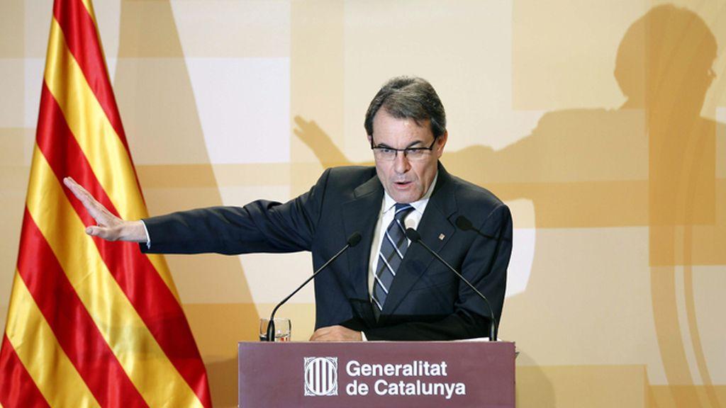 Artur Mas hace balance de sus 100 días de gobierno