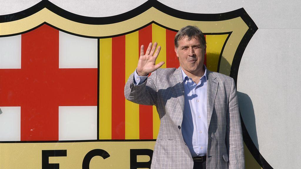 'Tata' Martino ya está en Barcelona