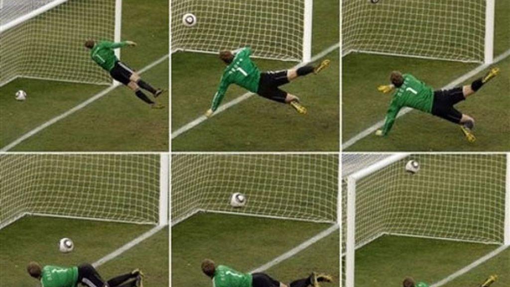 Gol fantasma de Lampard (Alemania 4-1 Inglaterra)