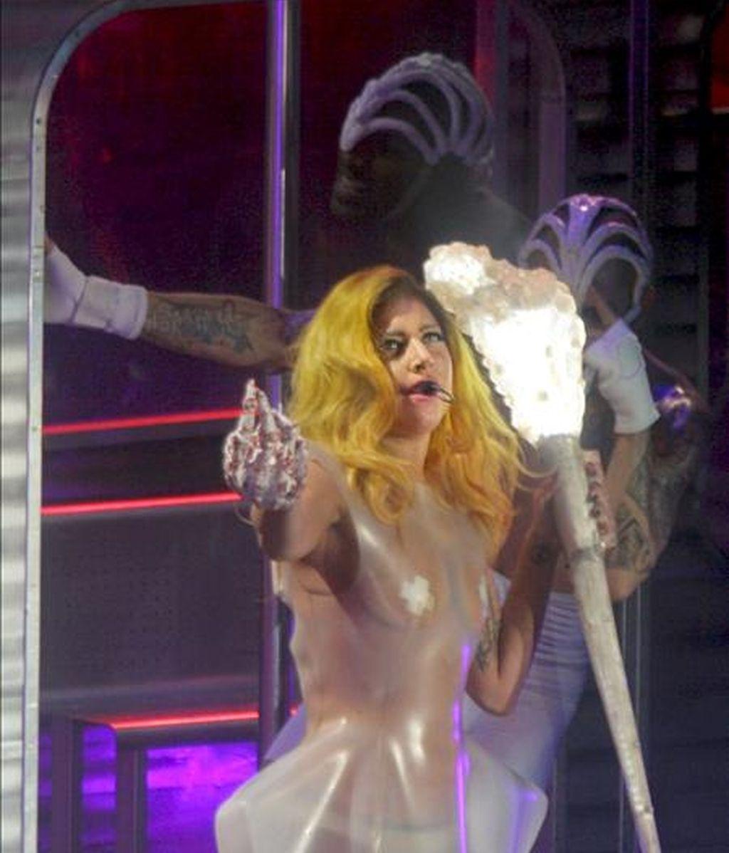 La cantante neoyorquina Lady Gaga, arrasó en Barcelona. Vídeo: Informativos Telecinco.