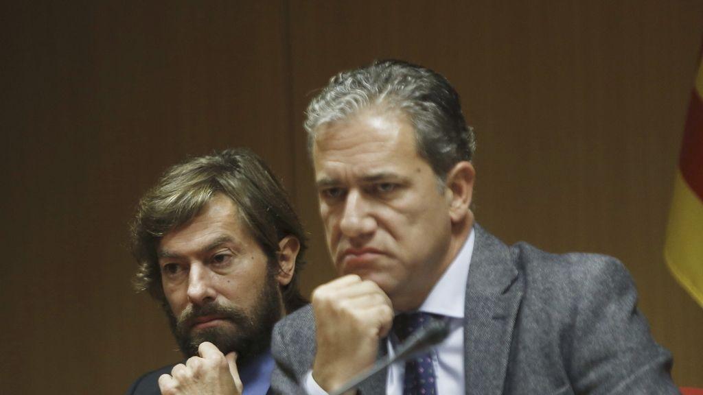Los jueces Santiago Pedraz y Pedro Vigor