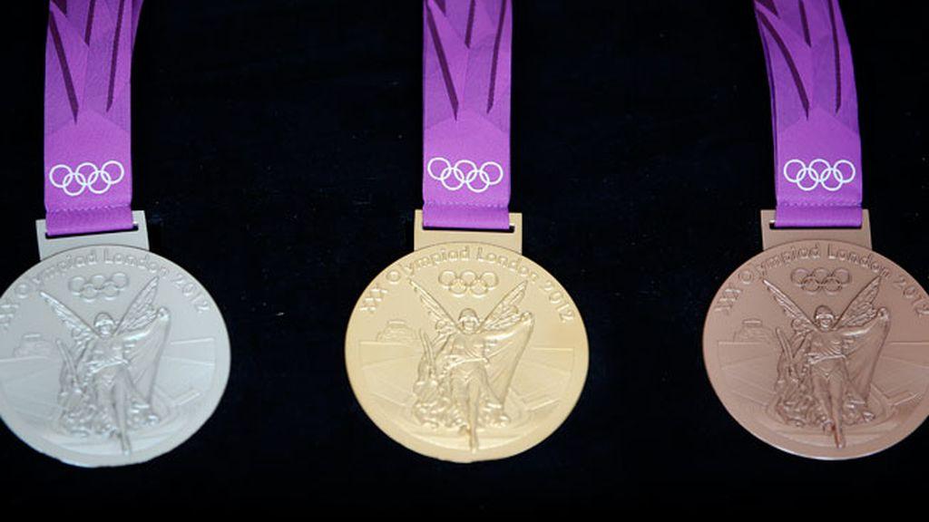 Las medallas de las Olimpiadas Londres 2012