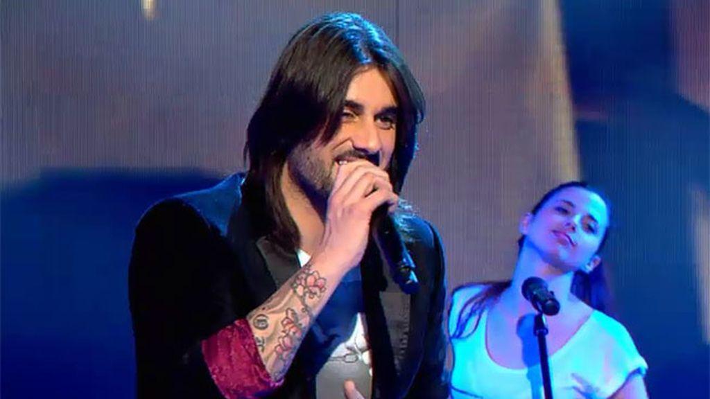 Melendi le ha cantado a Laura 'Lágrimas desordenadas', el primer single de su nuevo disco