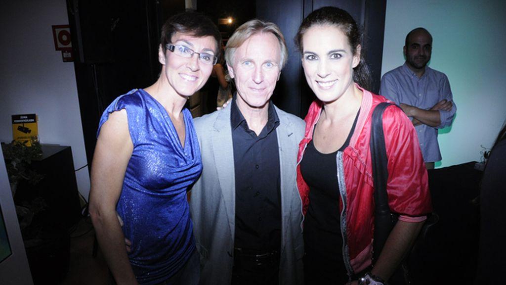 Lola González con Bob Niko y Alicia Senovilla