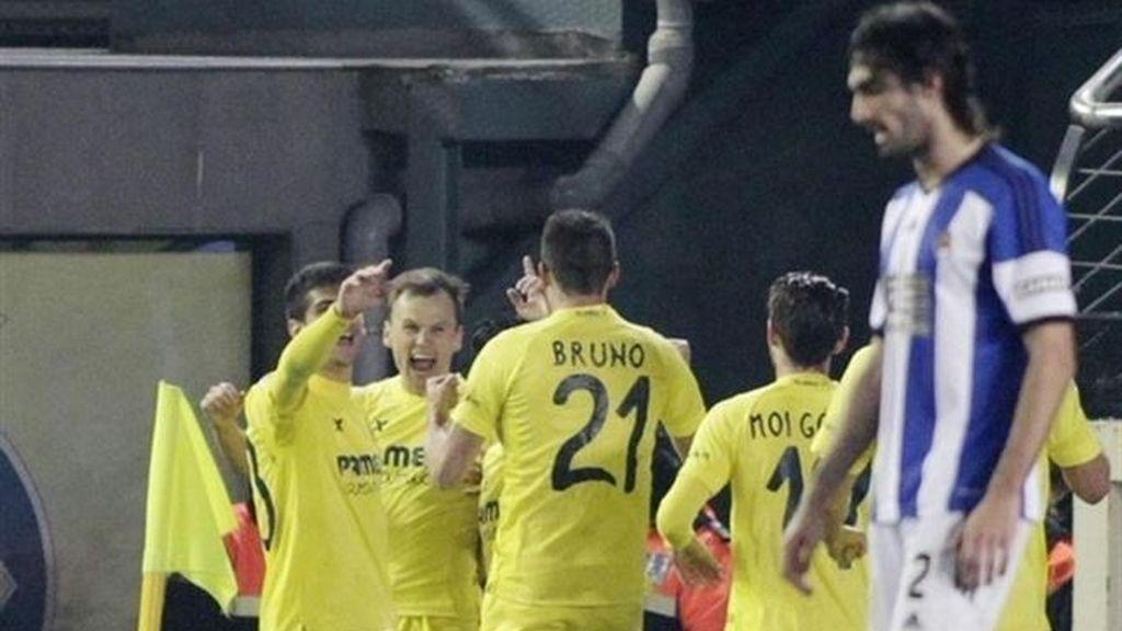 El Villarreal perdona a la Real Sociedad
