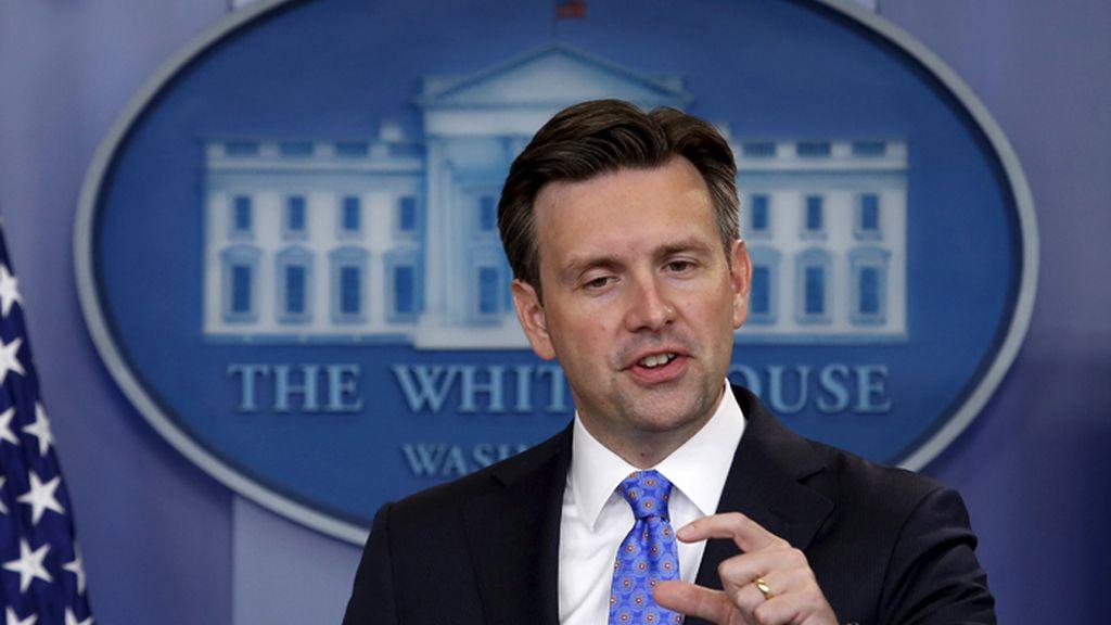 Josh Earnest, portavoz de la Casa Blanca