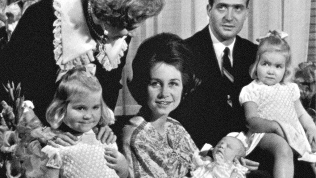 Bautizo del príncipe Felipe en 1968