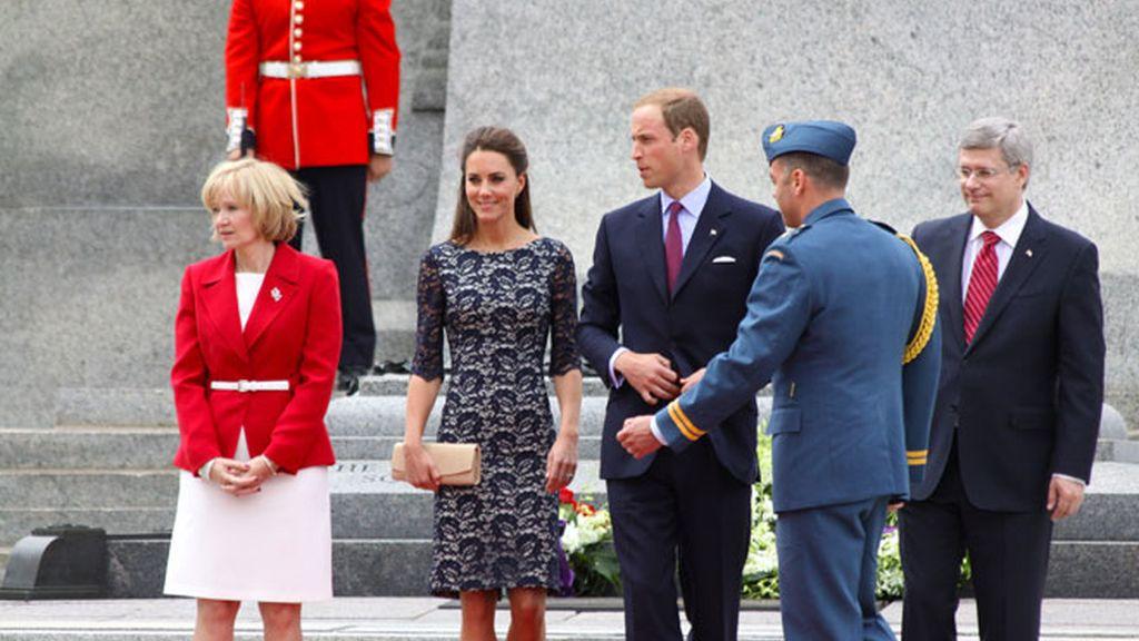 Los duques de Cambridge, en su primer viaje oficial al extranjero