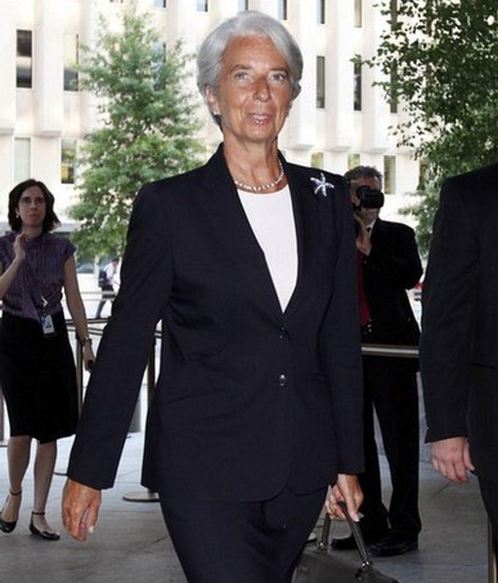 Christine Lagarde es la directora gerente del Fondo Monetario Internacional (FMI).