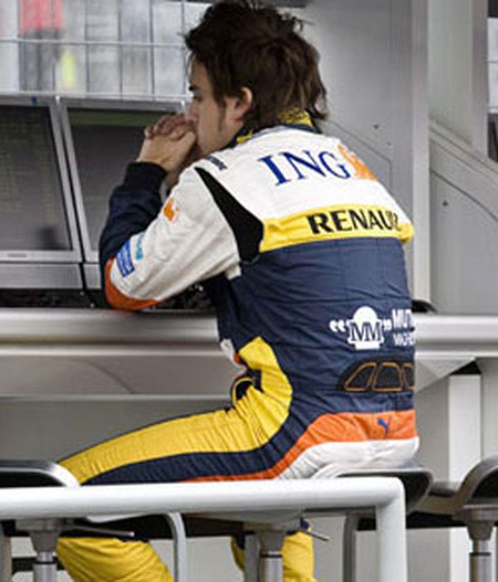 Alonso no pudo acabar los libres. Foto: AP