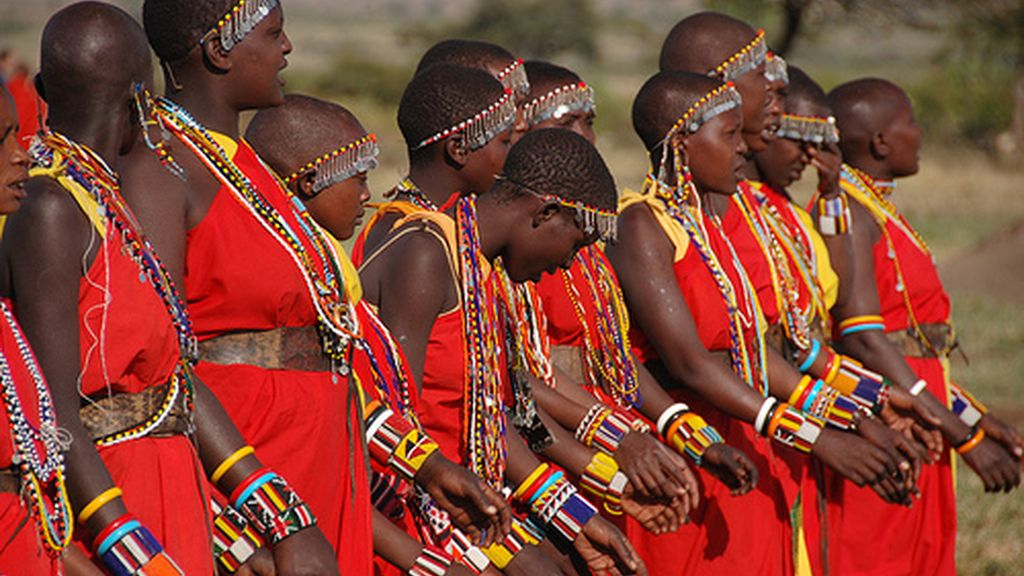 La tribu Masai es única